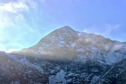 Snowdon from Elidir Fawr | The Frozen Divide