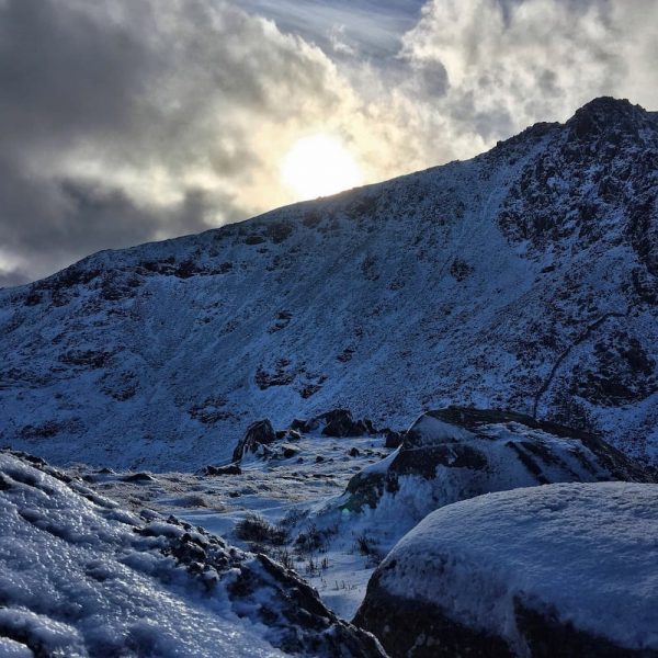 More Tryfan winter conditions