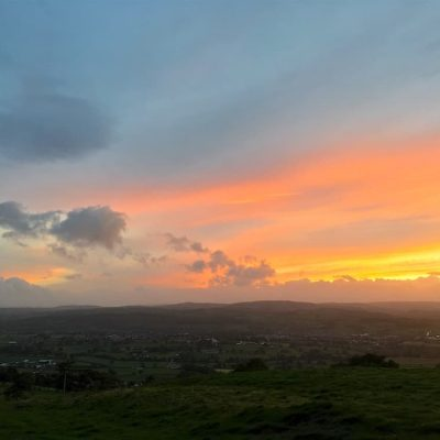 Moel Famau Sunset 29 Sep 01 | thefrozendivide