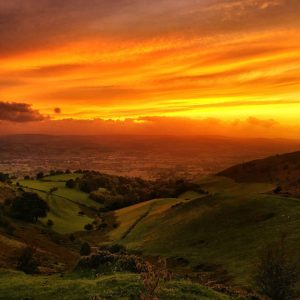 Moel Famau Sunset 29 Sep 02 | thefrozendivide