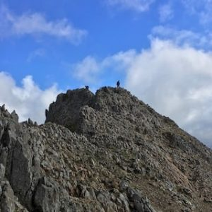 Crib Goch & Pyg Track Video | The Frozen Divide