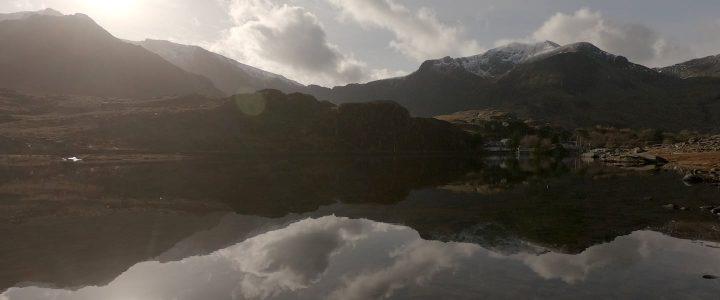 Llyn Ogwen reflections
