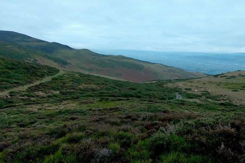 Offa's Dyke Ruthin A to B Trail | The Frozen Divide