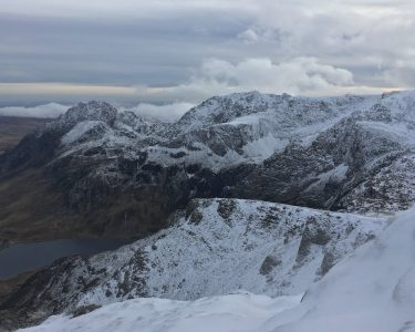 Winter in the Ogwen Valley