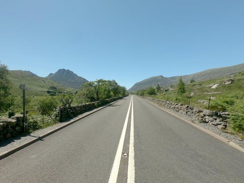 The 4C Snowdonia Loop - A5 road