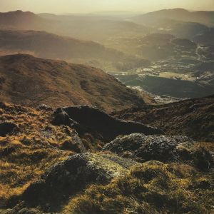 Allt Fawr Golden Hour | The Frozen Divide
