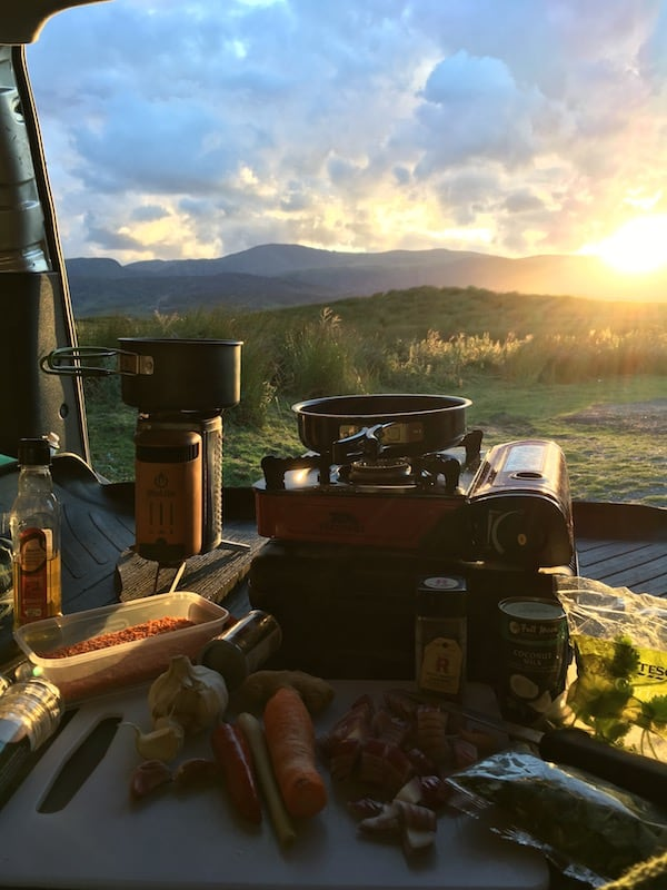 Cooking curry with Biolite Campstove | The Frozen Divide