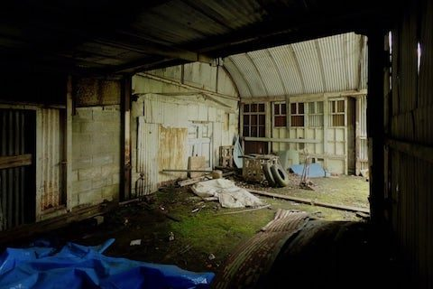 Quarry Garage Abandoned Urbex North Wales | The Frozen Divide