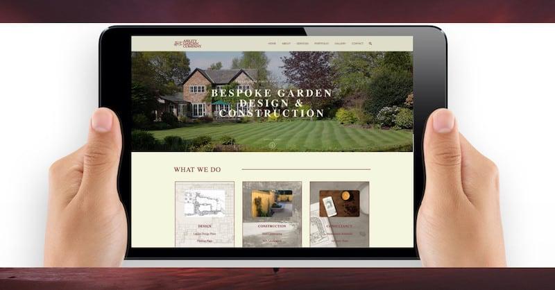Wordpress Website Design | Ability Garden Company | The Frozen Divide Ltd