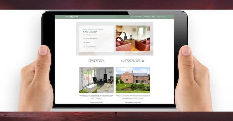 Wordpress Website Design | Glan Clwyd Isa | The Frozen Divide Ltd