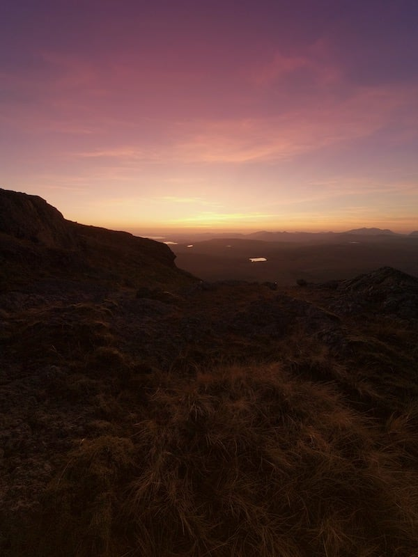 Arenig Fawr Pink Sunset | The Frozen Divide