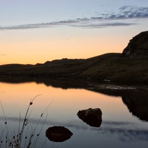 Sunrise tranquility