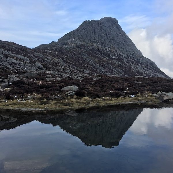 South face of Tryfan