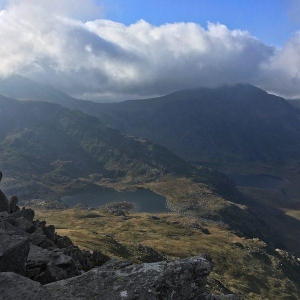 Ogwen Valley from Tryfan