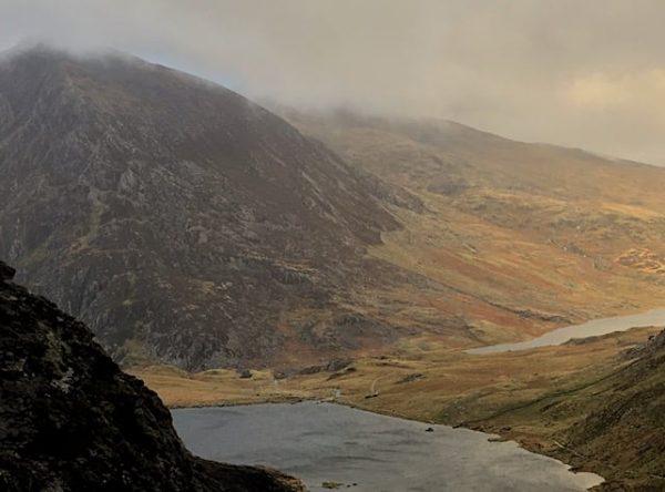 Devils Kitchen & Y Garn Trail Route for Hiking & Running Snowdonia