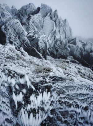 Mountain Frost Canvas Print