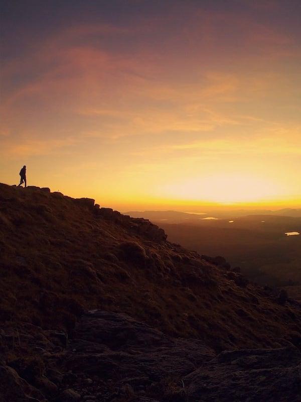 Arenig Fawr September 2019 Sunset | The Frozen Divide