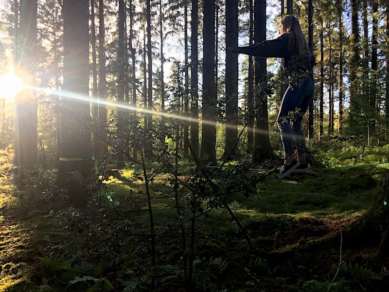 Clocaenog Forest Slackline