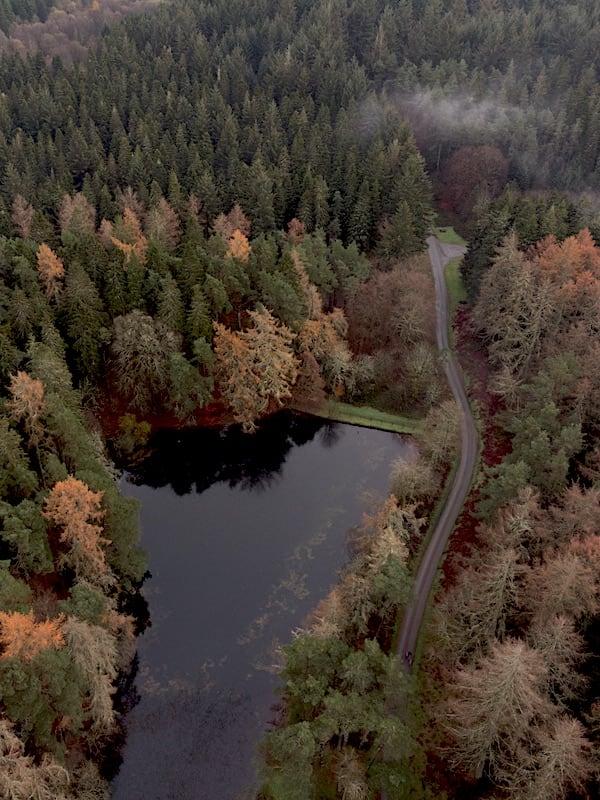 Bod Petryal Lake & Road