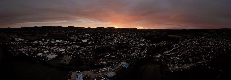 Ruthin November Sunrise | The Frozen Divide