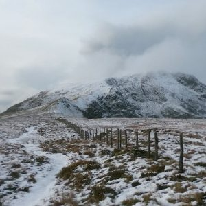 Mynydd Moel & Cadair Idris Trail Route | Hiking & Running Snowdonia | The Frozen Divide