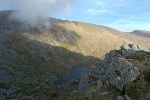 Cwm Lloer, Snowdonia National Park | The Frozen Divide