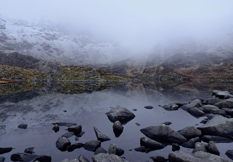 llyn bochlwyd | thefrozendivide